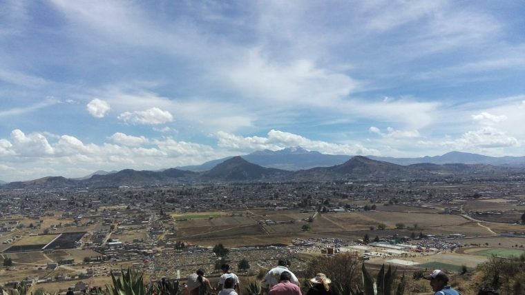Toluca desde el Cerro del Perico
