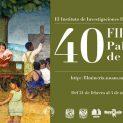 40 Feria Internacional del Libro del Palacio de Minería