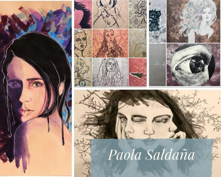 Artistas plásticos - Paola Saldaña