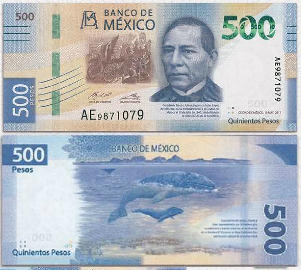 Nuevo Billete de 500