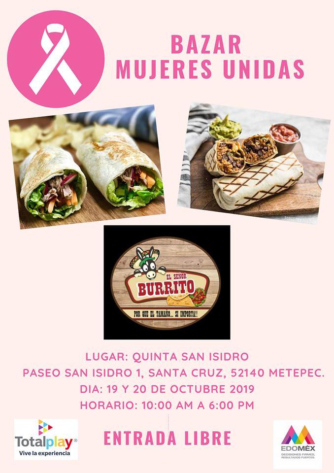 Bazar con causa - señor burrito