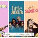 Caloncho Little Jesus y Carlos Sadness en Toluca