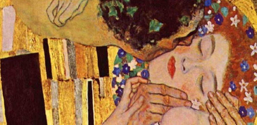 El amor platónico - el beso - gustav klimt