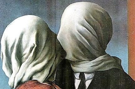 El amor platónico - los amantes de Magritte