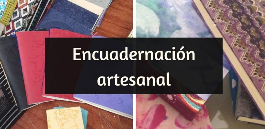 Encuadernación artesanal - portada