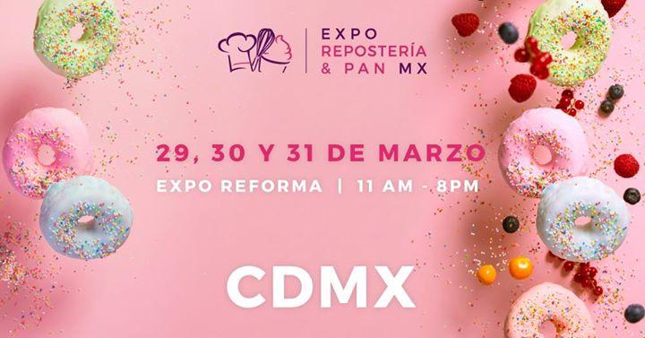Expo reposteria y pan CDMX