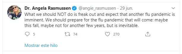 Gripe Porcina - Dra. Angela Rasmussen