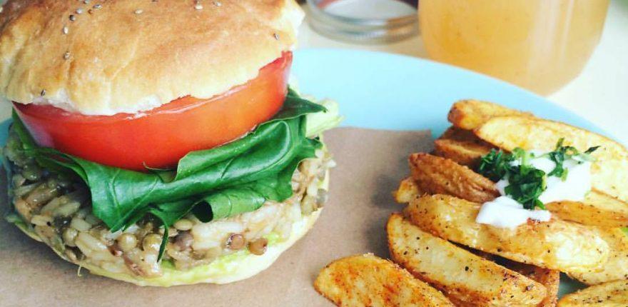 Patio Champiñon- Resturante vegetariano en Toluca