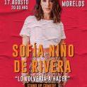 Sofía Niño de Rivera en Toluca