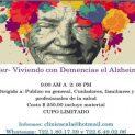 VIVIENDO CON DEMENCIAS EL ALZHEIMER
