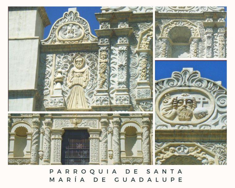 cinco lugares que visitar en Toluca 2018 - Parroquia de Santa María de Guadalupe