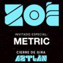 Zoé & Metric en CDMX