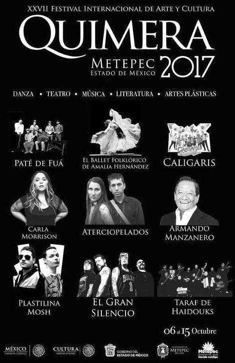 Festival Cultural Quimera 2017